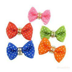 Designer bow ties   ... Core White Point Ribbon Ribbon Bow DB159. Bow Tie Dog, Pet Supplies
