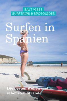 In Spanien Surfen - die schönsten Strände und besten Surfspots