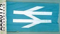 House flag, British Rail - National Maritime Museum