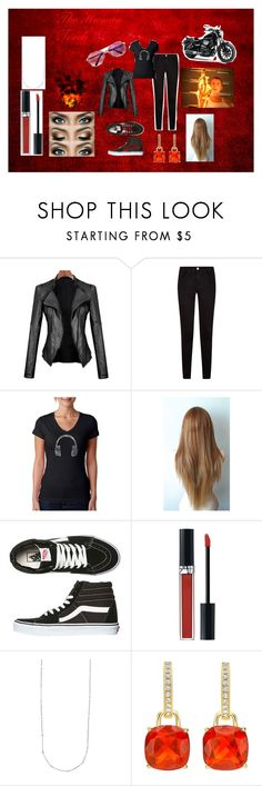 """""""The Human Torch A.K.A. Johnny Storm"""" by hermkat ❤ liked on Polyvore featuring Frame Denim, Los Angeles Pop Art, Vans and Christian Dior"""