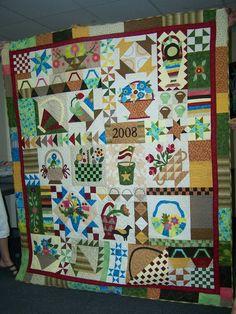 Basket quilt - Judy R
