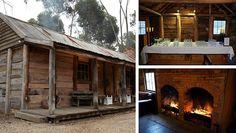 Slab Hut at Emu Bottom Homestead, Sunbury, Victoria