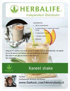 Herbalife recept Kaneel shake