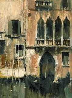 The Doorway, Venice by Edward Seago