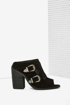 Nightwalker Blind Suede Mule - Shoes
