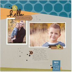 Hello Handsome: Close To My Heart Enchantment Paper Pack & compliments. Matching made easy! #ctmh #closetomyheart #complements #fundamentals