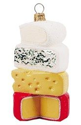 Nordstrom at Home 'Cheese Stack' Handblown Glass Ornament
