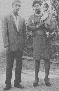 Bob with his mother, Cedella Marley.