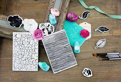 Prima Summer Sneak Peeks: Stencils, Stamps