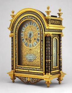 attribué à André-Charles Boulle (1642 – 1732), mouvement Nicolas Gribelin (1637-1719) – Cartel, vers 1675 – Art Institute of Chicago