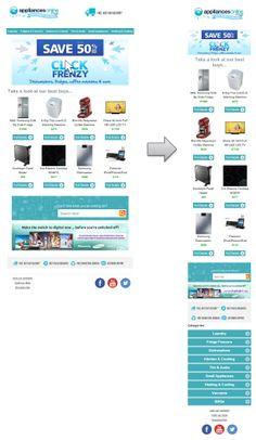 Appliances Online Responsive Email Design