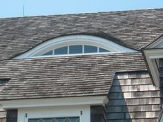 Eyebrow dormer this dormer is usually in the shape of an for Eyebrow dormer windows