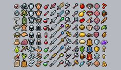 RPG Inventory Icons (Retro pack) - Asset Store