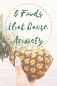 Are you eating foods that contribute to your anxiety? Learn which foods can increase your chance of a panic attack and what you can do to prevent one. #anxiety #panicattack