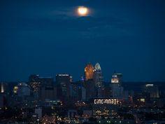 NASA - Blue Moon Over Cincinnati