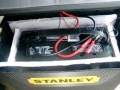 DIY portable solar generator homemade on the cheap!