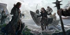 Crow's Landing by ertacaltinoz (A Song of Ice and Fire)