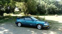 Honda Crx, Celestial, Cars, Blue, Autos, Car, Automobile, Trucks