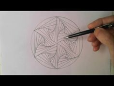 Freehand Space-filling Patterns 4: A Dense Leaf Design - YouTube