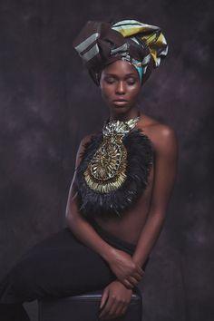 Anita Quansah London SS 14 Look Book Bespoke Jewellery Curator www.anitaquansahlondon.com