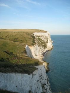 The White Cliffs of Dover- Where we docked on ferry ride over was right next to these beautiful cliffs. Pics don't do them justice.