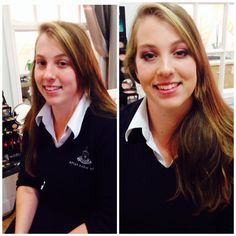 Youngblood make over in Apley salon.
