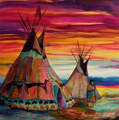 Summer On The Plains by Anderson R Moore