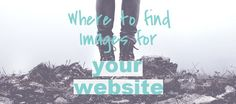Not sure where to look for high-quality and high-res images for your website? Check out my favorite go-tos!