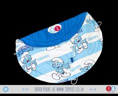 Super cute and timeless in every sense of the word, your child's face will light up every time it sees its Smurfs Tidy Tot filled to the brim with his/her favourite toys. Beautifully PADDED for your child's comfort it has 2 blue beads.