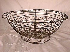 antique wireware bowl