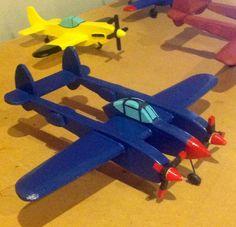 Wood Craft - Airplan