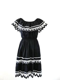 1970s Mexican Dress