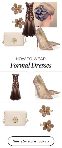 """""""A formal affair"""" by modest-fashionista87 on Polyvore featuring Tory Burch, Jimmy Choo, Phase Eight, Monsoon, women's clothing, women, female, woman, misses and juniors"""