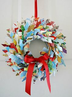 some fantastic ideas for recycling christmas cards diy ideas