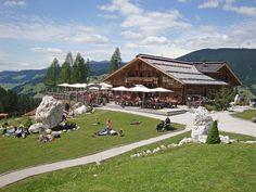 Rifugio Gigante Baranci in Innichen / San Candido, in the Dolomites of Sesto