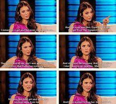 Awww! How cute...but sad.. Oh Nina!!