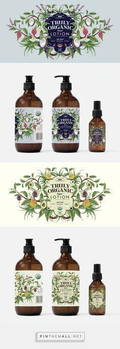 Blend Organic #Skincare #packaging designed by Charlotte Day - http://www.packagingoftheworld.com/2015/04/blend-organic.html