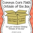 "Common+Core+Math:+Outside+of+the+Box+ (5th+Grade+Edition)  Included+in+the+Common+Core+Standards+for+Math,+are+the+""Standards+for+Mathematical+Prac..."