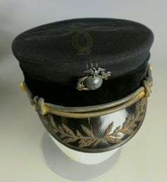 1896 undress officer's cap belonged to Henry Clay Cochrane.  Cochrane was an officer in the United States Marine Corps.