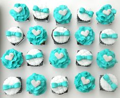 Almost Tiffany #cupcakes