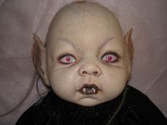 OOAK Horror Goth Art Doll Vampire Devil Reborn Babies Anatomically Correct Boy | eBay Zombie Vampire, Scary Clowns, Goth Art, Creepy Dolls, Crazy People, Baby Party, Reborn Babies, Zombies, Art Dolls