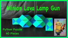 Being the huge Minions fan that I am, I created a Minion Lava Lamp Gun shape with the Smiggle Python Puzzle or 60 piece Rubik's Twist.... here's the link to the tutorial https://youtu.be/tEngc-9U_A8