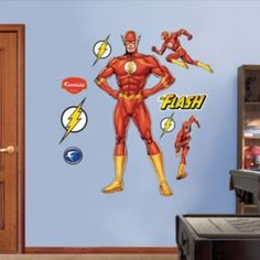 The Flash Wall Decals by Fathead