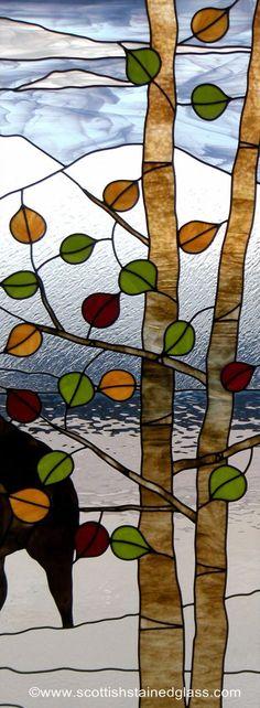 Aspen Stained Glass Window