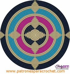 This Pin was discovered by Pam Mochila Crochet, Bag Crochet, Crochet Gratis, Crochet Purses, Crochet Chart, Crochet Stitches, Free Crochet, Boho Tapestry, Tapestry Bag