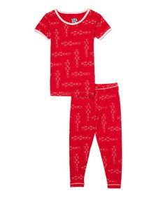Look at this #zulilyfind! Balloon Hopscotch Pajama Set - Infant