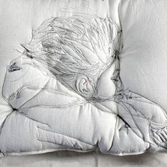 """Pillow portrait"" by Maryam Ashkanian."