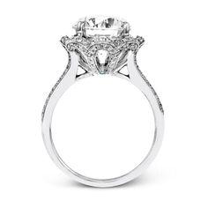 MR2724-S -Simon G. white gold and diamond engagement ring