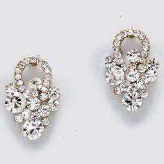 Crystal Sabine Earrings/Beautiful