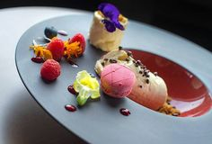 A dessert almost too beautiful to eat - from Rydges Fortitude Valley Brisbane.